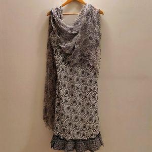 Anokhi Dress + Scarf